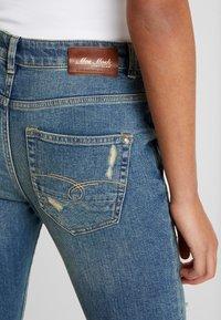 Mos Mosh - BRADFORD WORKED - Jeans Skinny Fit - blue denim - 3