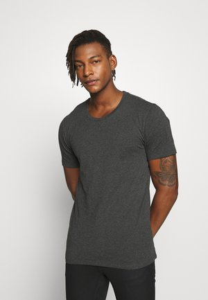 CARLO - T-shirt basic - anthra
