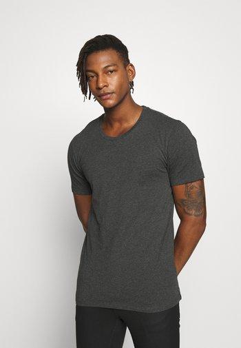 CARLO - T-shirt - bas - anthra