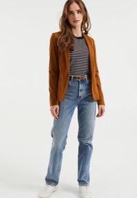 WE Fashion - Blazer - dark brown - 1