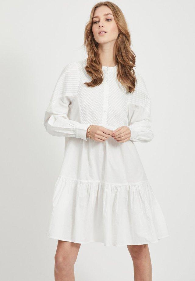 OBJALYSSA LS DRESS 108 - Paitamekko - white