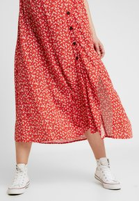 Topshop Maternity - SPLIT FRONT - Day dress - red - 5