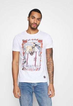 RAZOR - T-shirt imprimé - optic white