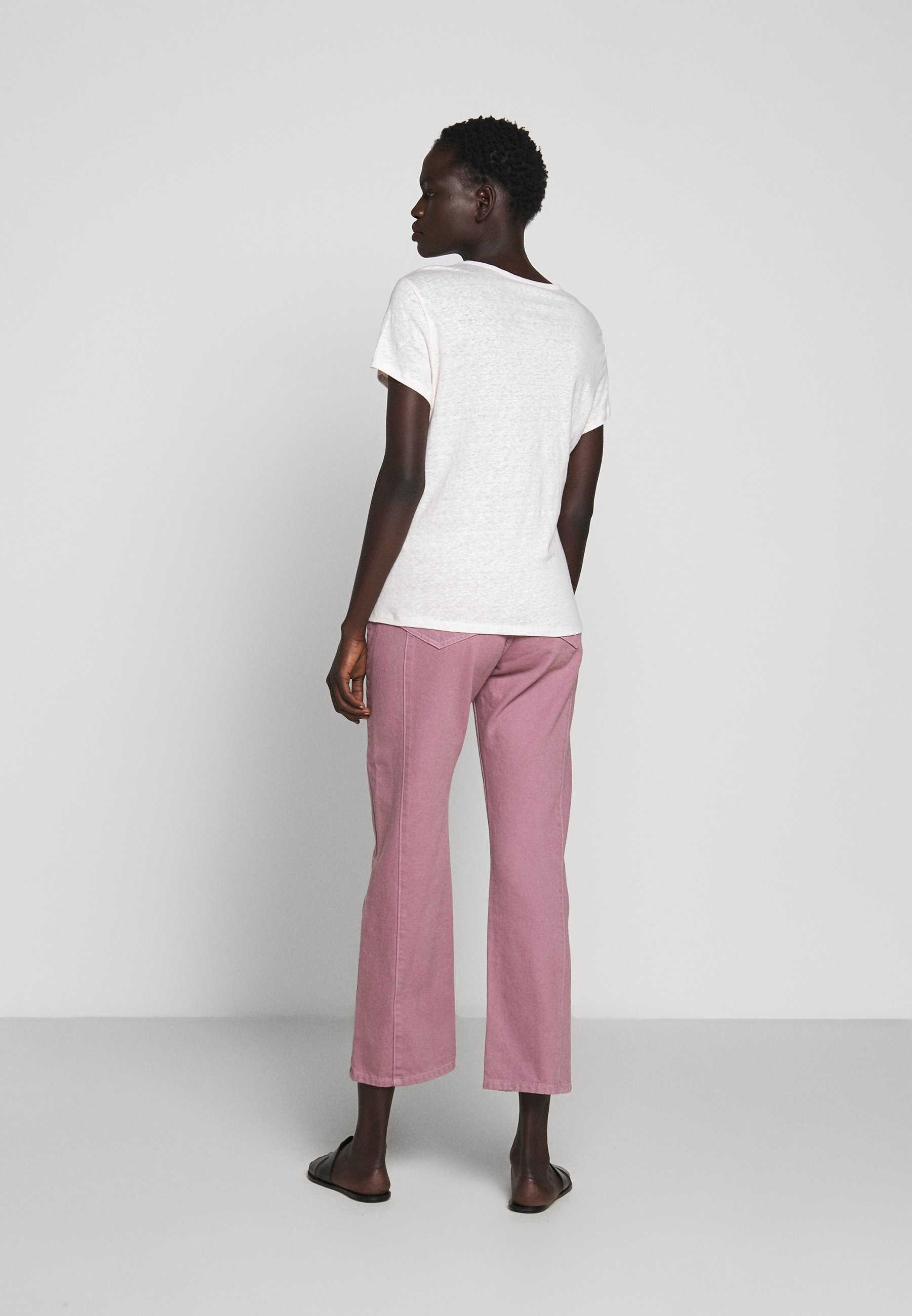 Filippa K Hazel Tee - T-shirts Faded Pink/lyserosa