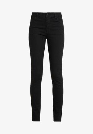 MARIA HIGH RISE POCKETS - Skinny džíny - jet black