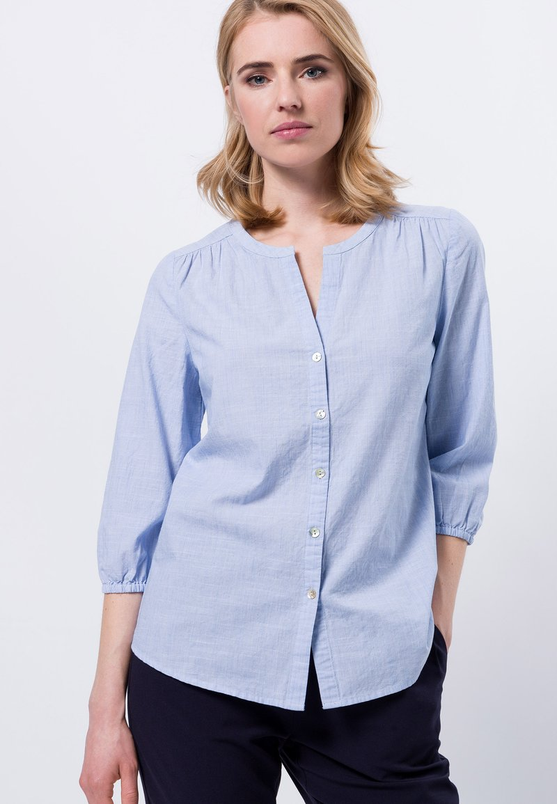 zero - Blouse - viola blue