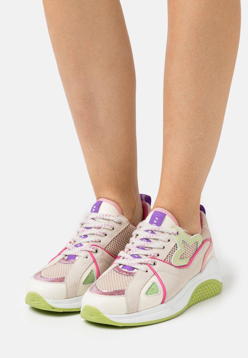 Fabienne Chapot - RISING STAR - Sneakersy niskie - trippy pink/pistache
