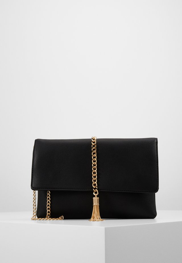 TASSEL - Clutch - black/gold