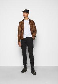 Belstaff - WEYBRIDGE JACKET - Leather jacket - burnished gold - 1