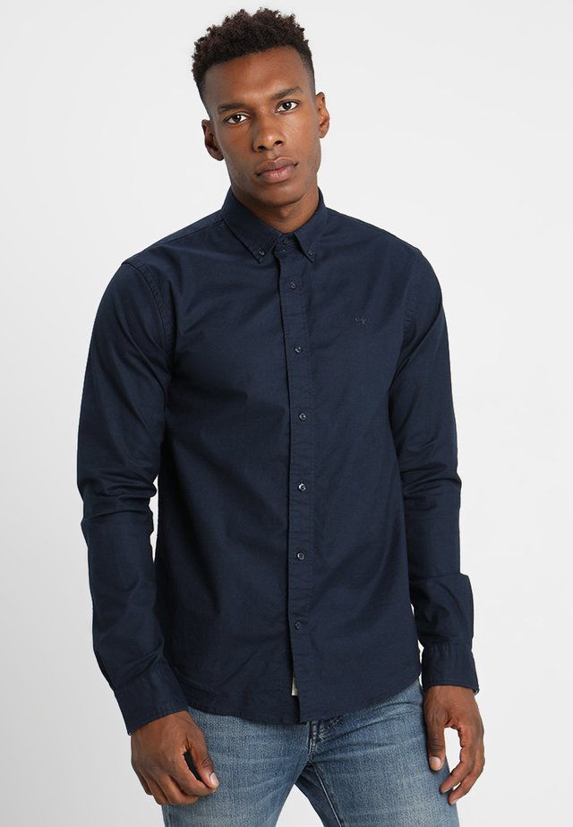 REGULAR FIT OXFORD SHIRT WITH STRETCH - Camisa - night