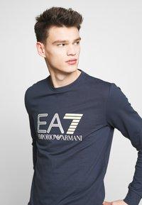 EA7 Emporio Armani - FELPA - Sweatshirt - navy blue - 3