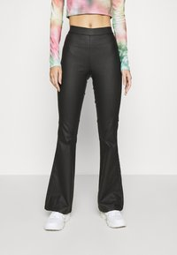 Noisy May - NMBILLIE PANTS - Trousers - black - 0