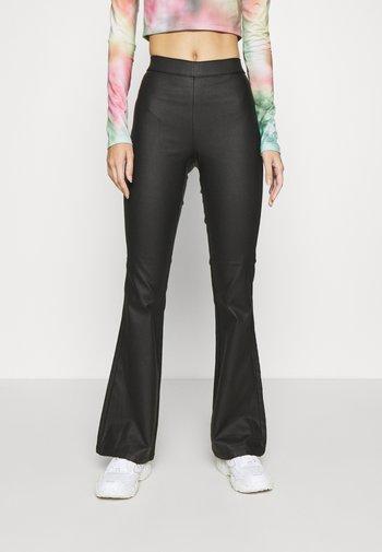 NMBILLIE PANTS - Trousers - black