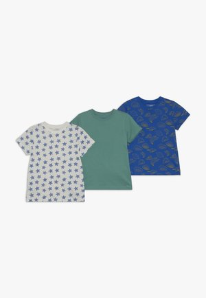 3 PACK  - T-shirt con stampa - multi-coloured