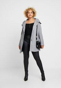 ONLY Carmakoma - CARSEDONA  - Short coat - light grey melange - 1