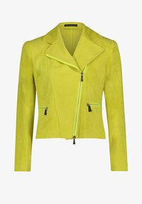 Betty Barclay - Faux leather jacket - yellow - 3