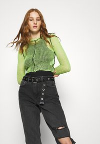 The Ragged Priest - LIME SHEER BLACK SEAMS - Jumper - lime - 4