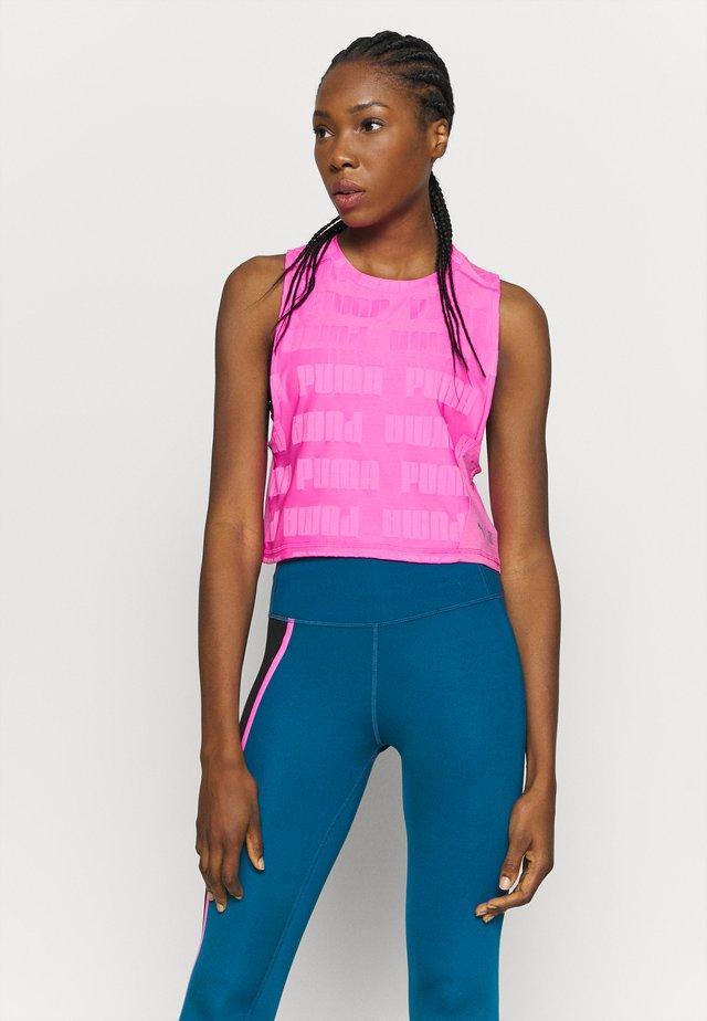 TRAIN FIRST MILE XTREME TANK - T-shirt sportiva - luminous pink