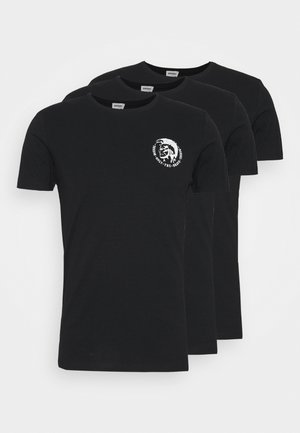 UMTEE RANDAL 3 PACK - Basic T-shirt - black