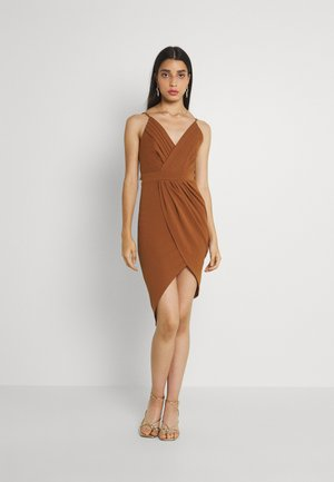 EASY DRESS - Occasion wear - chocolate