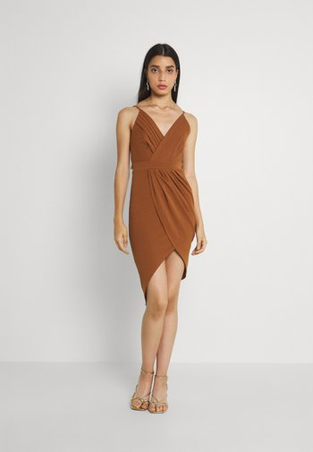 EASY DRESS - Ballkjole - chocolate