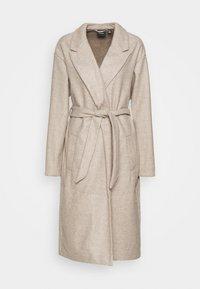 Vero Moda Tall - VMFORTUNE LONG JACKET - Classic coat - silver mink/melange - 0
