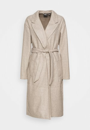 VMFORTUNE LONG JACKET - Abrigo - silver mink/melange
