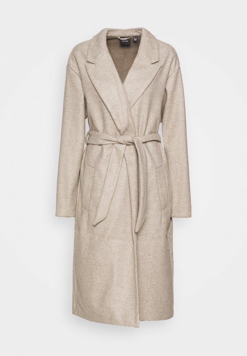 Vero Moda Tall - VMFORTUNE LONG JACKET - Classic coat - silver mink/melange