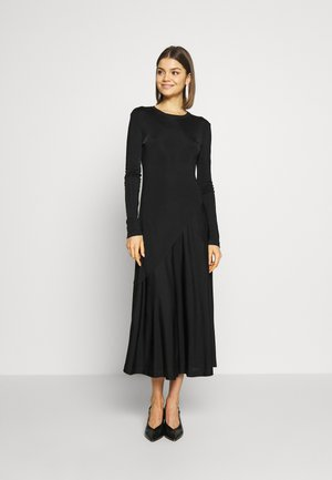 KAREN DRESS - Žerzejové šaty - black