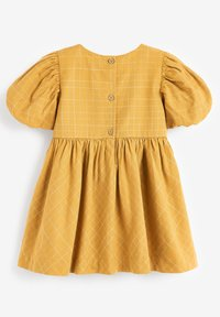 Next - EMBROIDERED - Day dress - ochre - 1