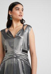 Three Floor - MERCURY DRESS - Vestido de cóctel - pewter metallic - 4