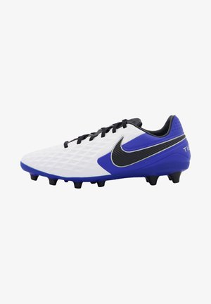 TIEMPO LEGEND  PRO  - Moulded stud football boots - weiss / blau