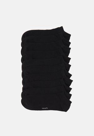 10 PACK - Ponožky - black