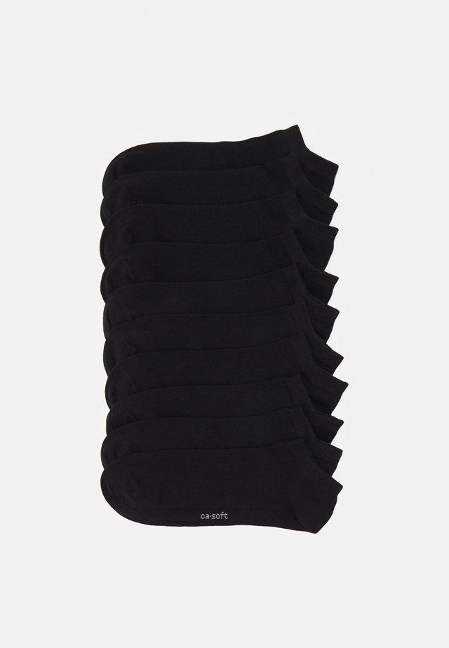 10 PACK - Sokker - black