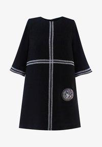 Evika Kids - WITH WHITE LINES - Day dress - black - 0