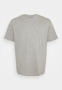 Jack & Jones - JORBASIC TEE  V-NECK 3 PACK - T-shirt - bas - white/light grey melange/black - 1
