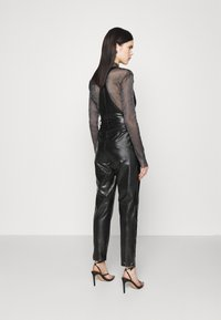 Missguided - DUNGAREE - Overal - black - 2