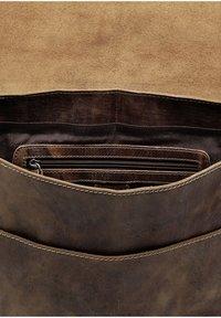 Klondike 1896 - ETHAN - Across body bag - dunkelbraun - 4