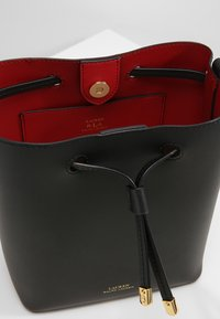 Lauren Ralph Lauren - SUPER SMOOTH DEBBY - Across body bag - black/crimson - 4