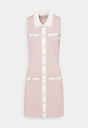 REVISTO - Strikket kjole - rose pale