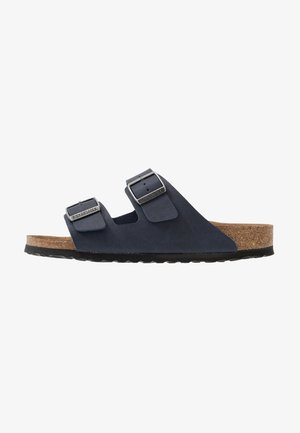 ARIZONA VEGAN - Slippers - matt navy