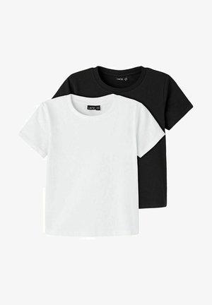 2 PACK - T-paita - black