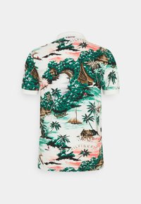 Tommy Hilfiger - ALL OVER HAWAIIAN - Polo shirt - snow white/multi - 1