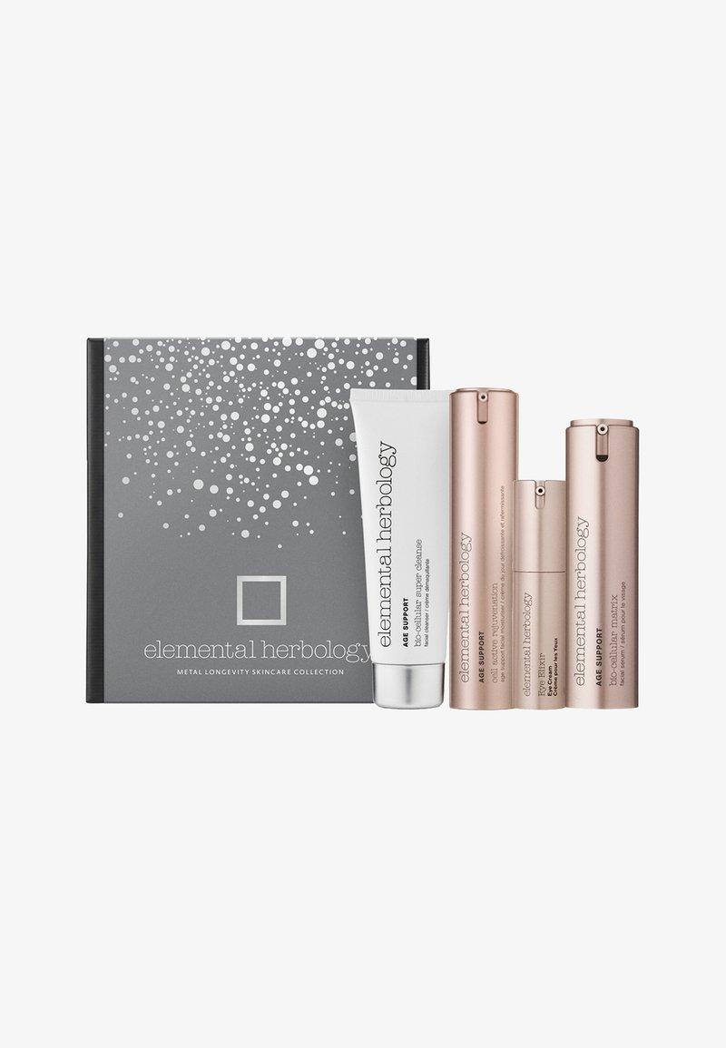 Elemental Herbology - METAL LONGEVITY SKINCARE COLLECTION - Skincare set - -