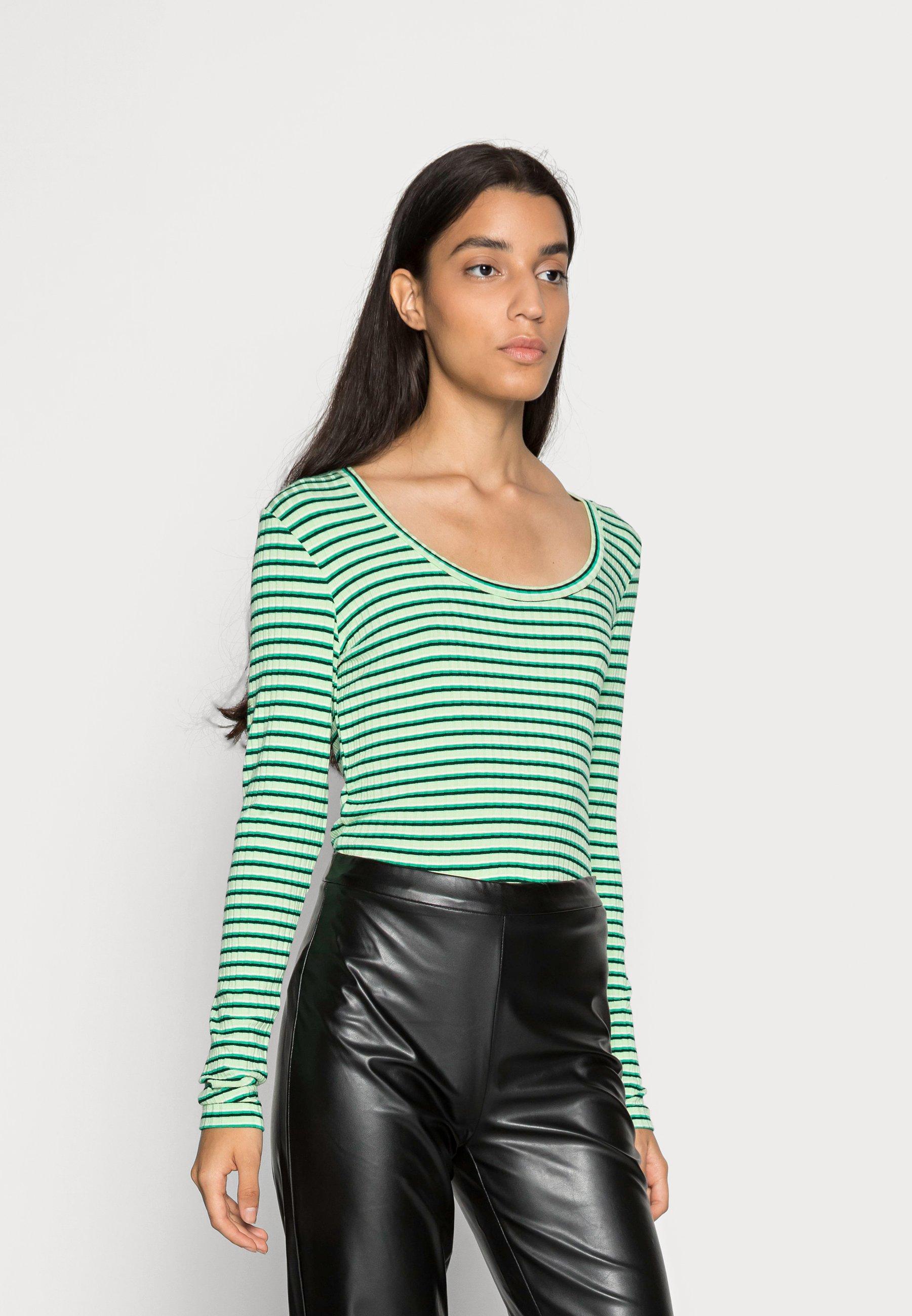Women STRIPE TINILLA - Long sleeved top