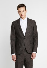 Shelby & Sons - BUCKLAND SUIT - Completo - dark brown - 2