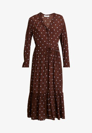 RYLIE MOROCCO DRESS - Day dress - dark brown