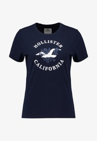 Hollister Co. - INCREMENTAL TECH CORE - Camiseta estampada - navy - 4