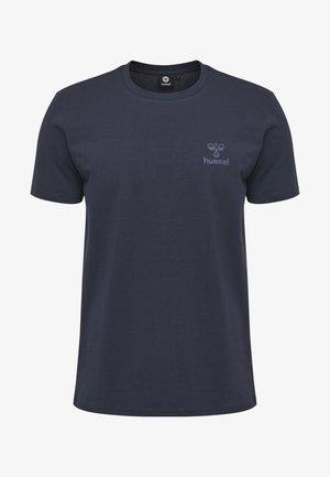 HMLSIGGE - T-shirt z nadrukiem - black iris