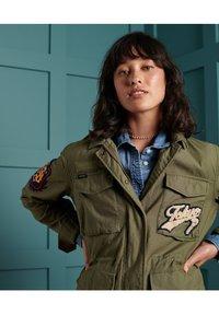 Superdry - VARSITY ROOKIE  - Summer jacket - khaki - 2